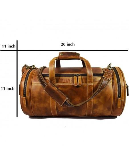 RawHide Small Retro Leather Messenger Bag